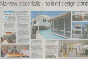 Narrow Block Fails to Limit Design Plans 2